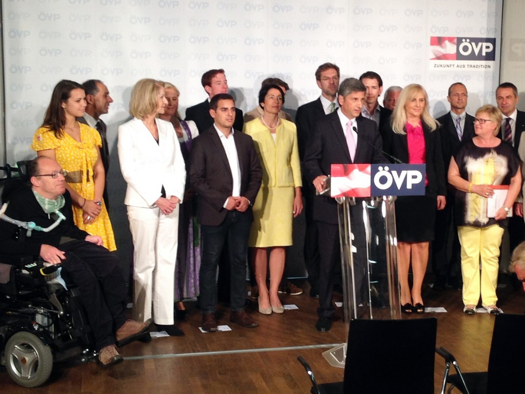 ÖVP-Team Bundesliste 2013