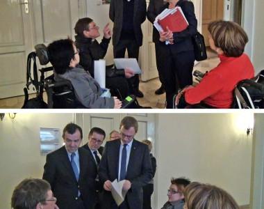 Übergabe Petition OÖ-Bautechnikgesetz 20121204
