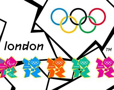 Logo Paralympics 2012 in London