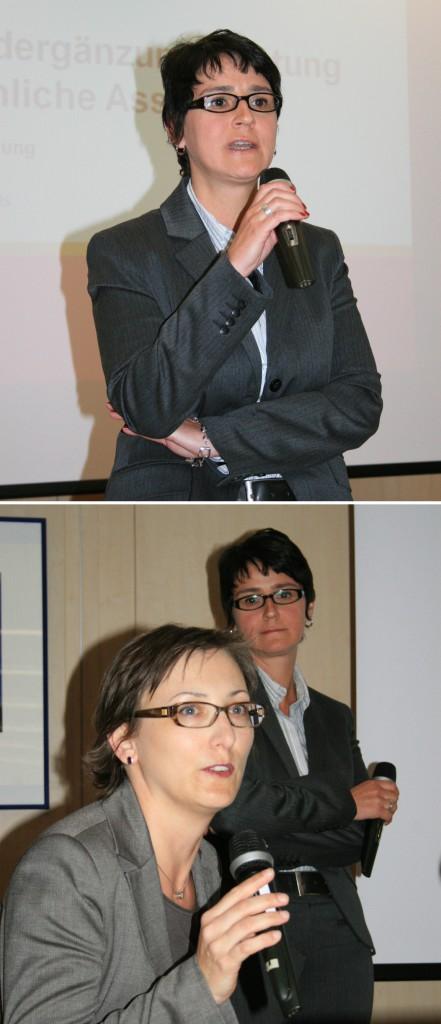 Martina Plohovits und Hemma Mayrhofer
