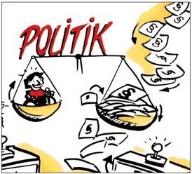 Logo: Politik und Gesetze im Bezug zu behinderten Menschen