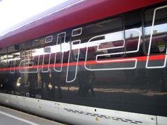 Außenansicht des railjet