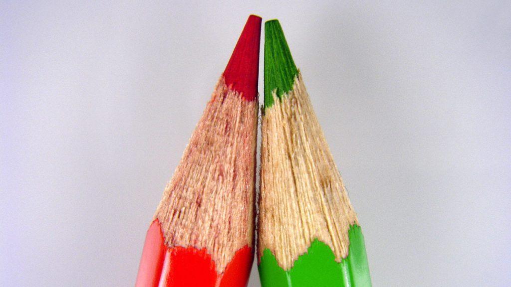Symbolfoto: Koalition Rot-Grün