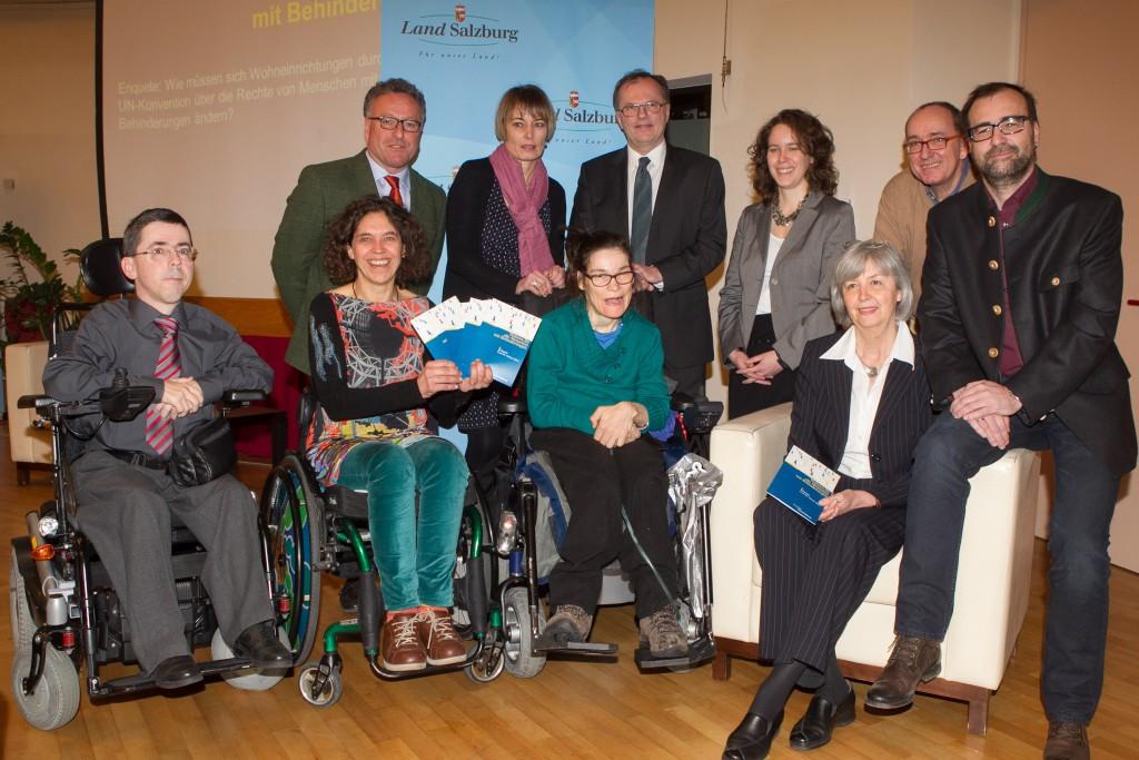 Gruppenbild der ReferentInnen der Salzburger Tagung 140226