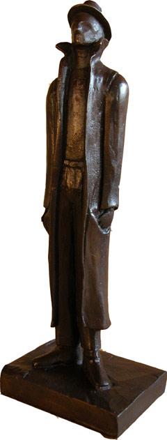 Statue des ÖZIV Medienpreises Schuasch