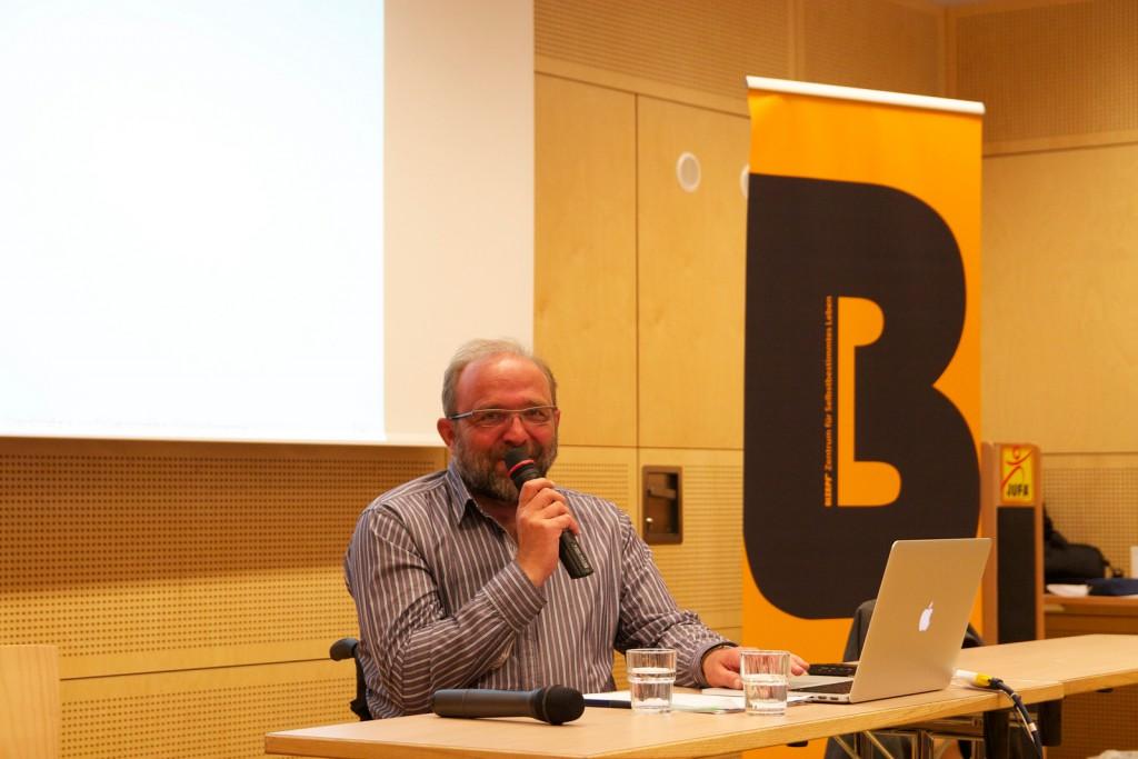 Hubert Stockner beim BIZEPS-Kongress 2013