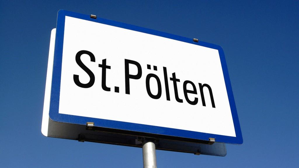 Ortstafel St. Pölten