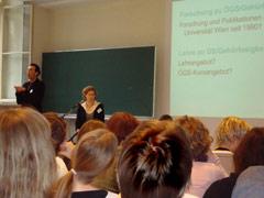 voller Saal bei der Präsentation der Studie 080204