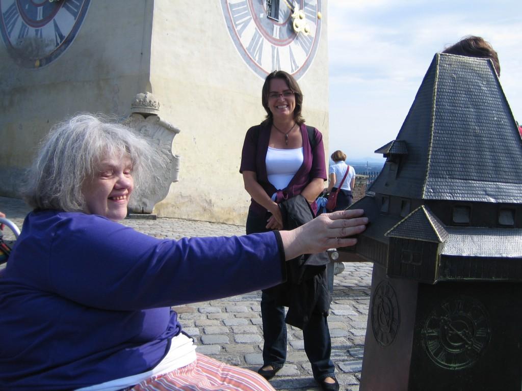 Tastmodell Grazer Uhrturm
