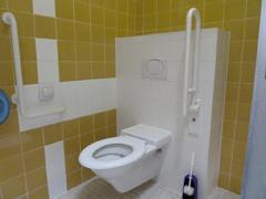 Barrierfreie Toilette Hallenbad Gänserndorf