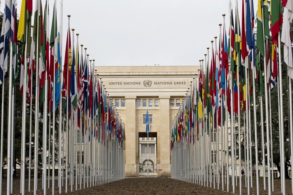 Palais des Nations in Genf