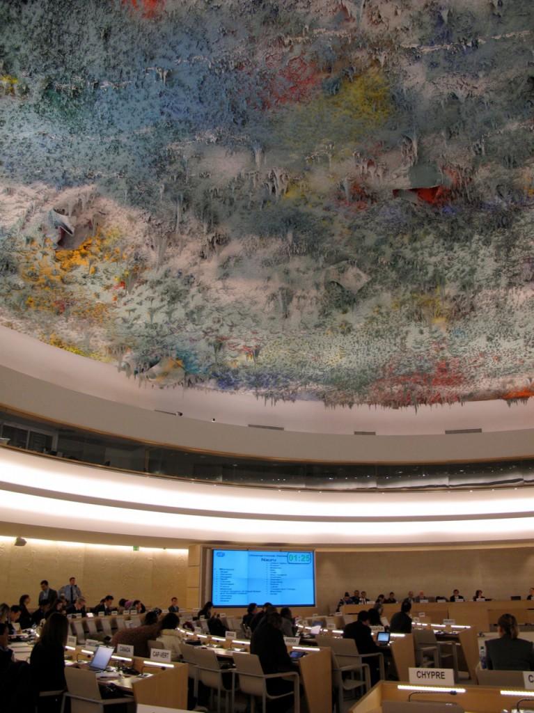 Saal der Menschenrechte der Vereinten Nationen in Genf
