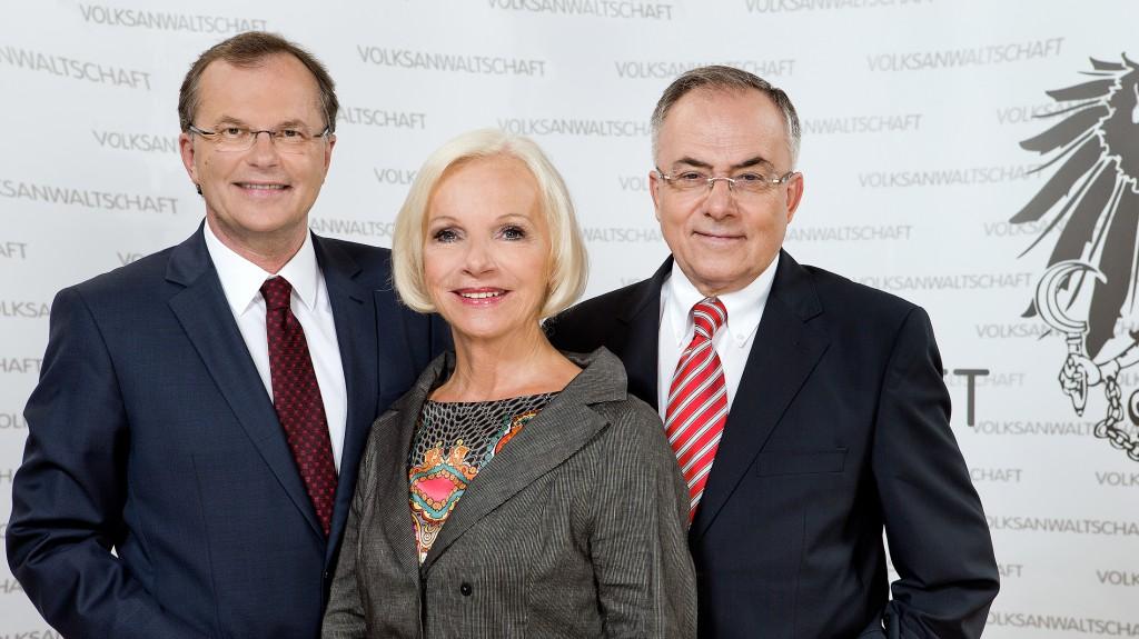 Günther Kräuter Gertrude Brinek Peter Fichtenbauer