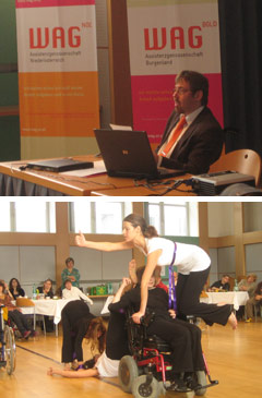 Christoph Dirnbacher bei der WAG Tagung und Danceability