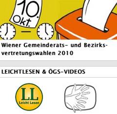 Logo Wien-Wahl 2010