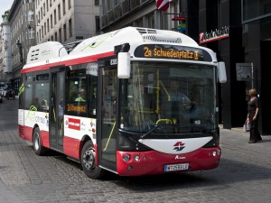Elektro-Bus Wiener Linien