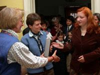 Preisübergabe Wundsam Preis 2004