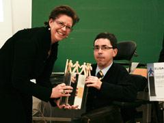 Überreichung Wundsam-Hartig-Preis 2008 an BIZEPS