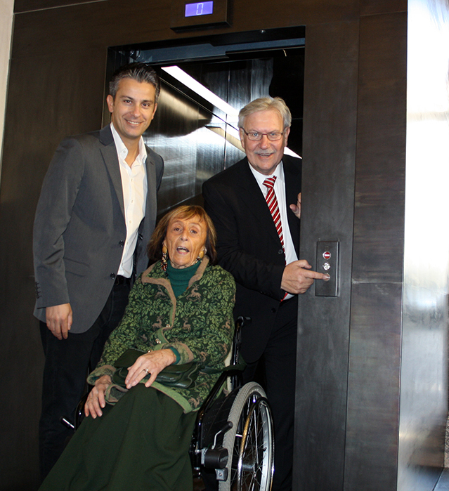 Lift im Landzeughaus eröffnet / Hohensinner, Wicher