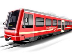Niederflurfahrzeug Zillertalbahn