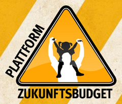 Logo Plattform Zukunftsbudget