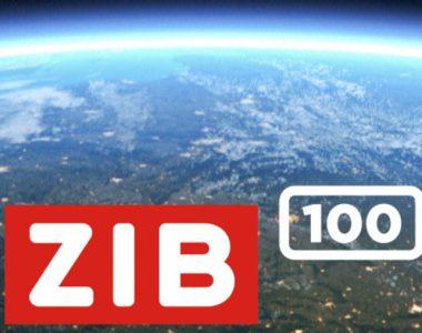 Logo: ZIB 100 Nachrichtensendung