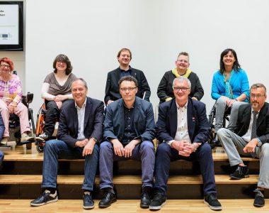 Mitglieder der Monitoringstelle Wien