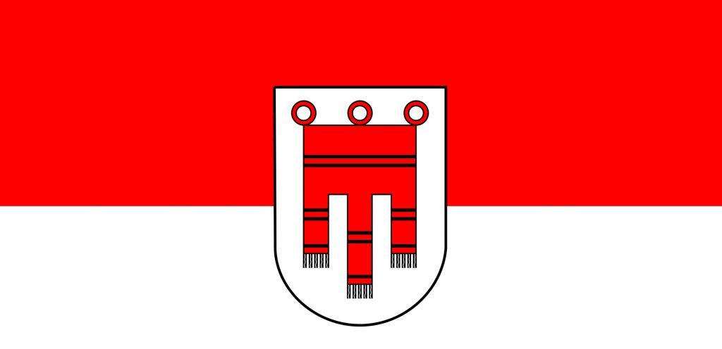 Flagge Land Vorarlberg
