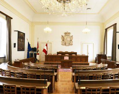 Chiemseehof Landtagssitzungssaal in Salzburg