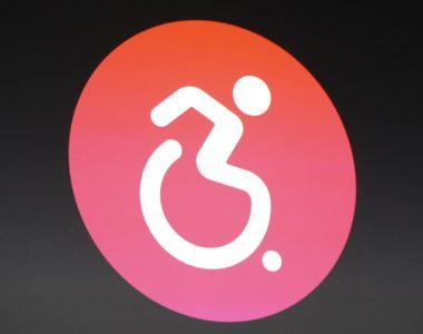 Rollstuhlsymbol der Apple Watch