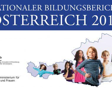 Deckblatt Nationaler Bildungsbericht 2015 von BIFIE