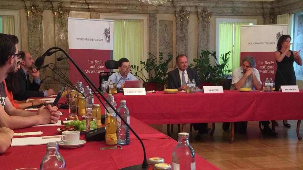 NGO Forum der Volksanwaltschaft zum Stephansplatz