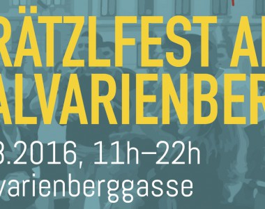 Einladung zum 3. barrierefreien Strassenfest - Grätzelfest am 27. August 2016