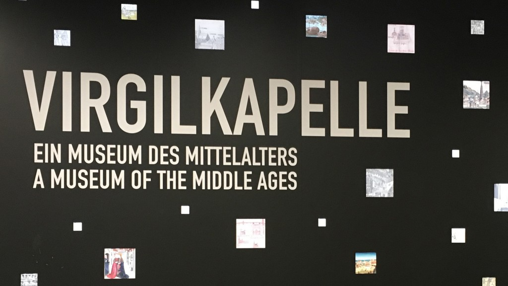 Virgilkapelle - ein Museum des Mittelalters