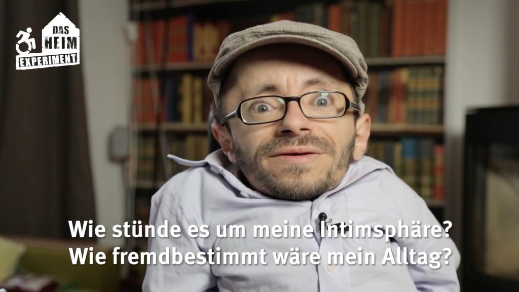 Heim Experiment von Raul Krauthausen