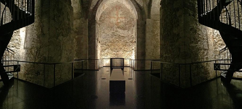 Panorama im Inneren der Virgilkapelle