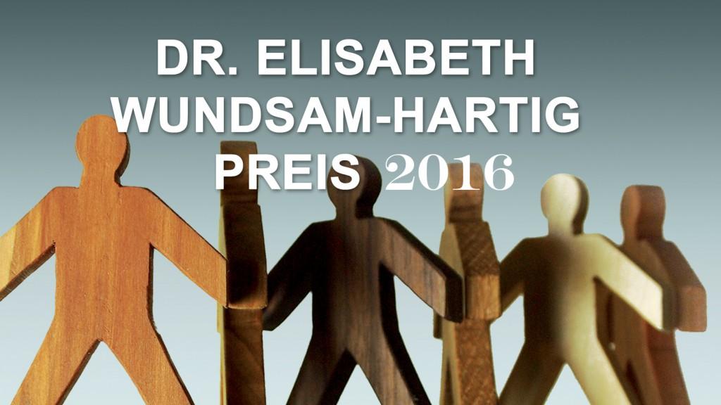 Dr. Elisabeth Wundsam-Hartig Preis 2016