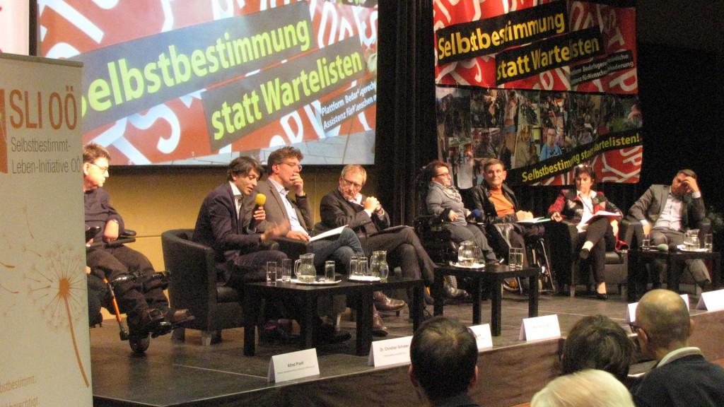 Alfred Prantl, Karin Holzmann, Gunther Trübswasser, Landesrätin Birgit Gerstorfer, LAbg. Wolfgang Hattmannsdorfer