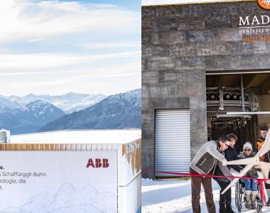 Barrierefreie Sessellift von ABB in Davos