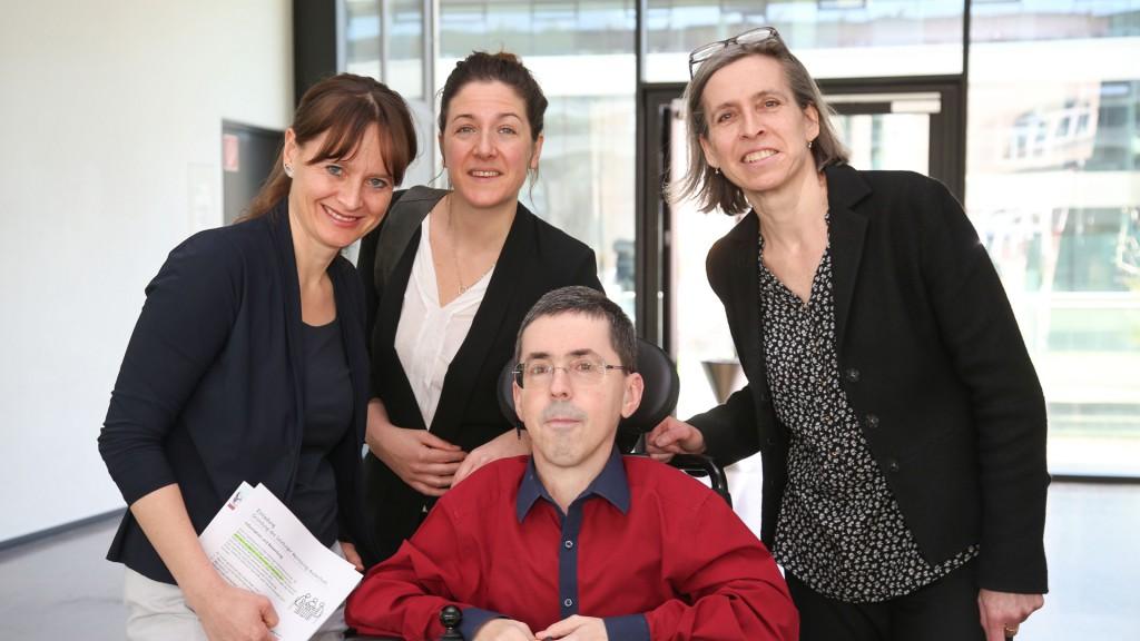 LR Martina Berthold, Christina Wurzinger, Martin Ladstätter, Ursula Naue