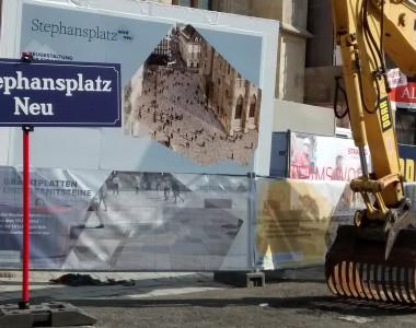 Baustelle Stephansplatz NEU