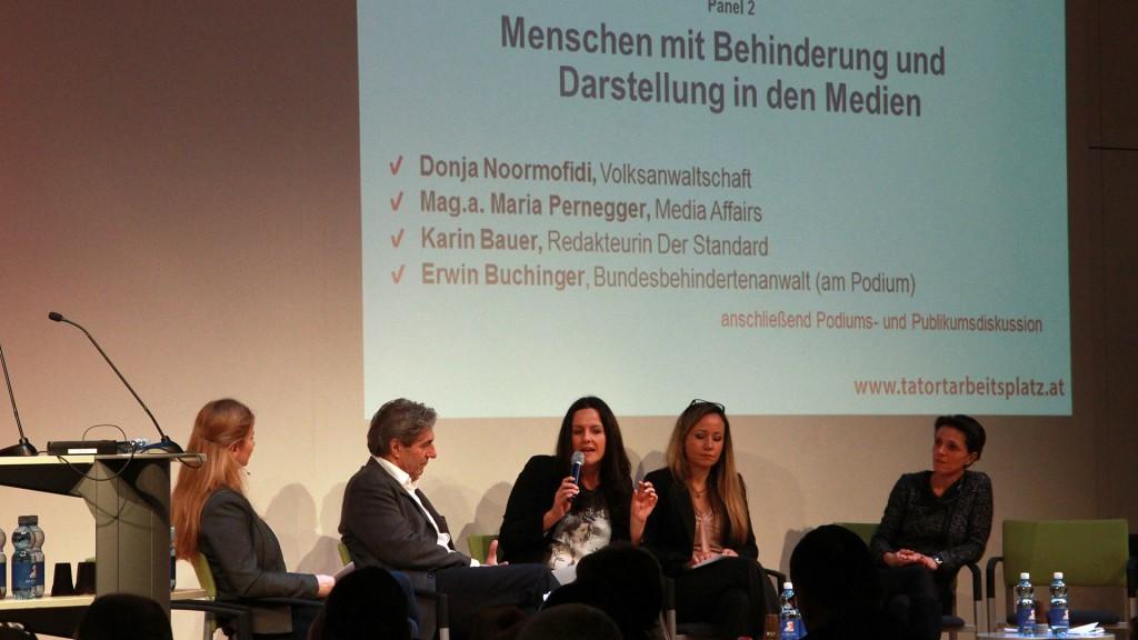 Sonja Noormofidi, Maria Pernegger, Karin Bauer, Erwin Buchinger