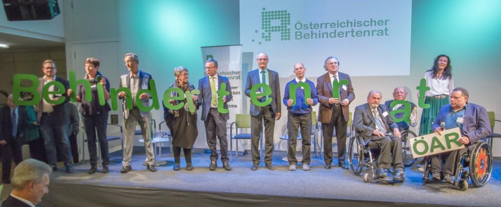 40 Jahre ÖAR - Es wird daraus Österreichischer Behindertenrat