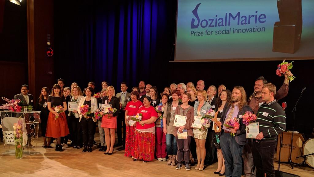 Alle PreisträgerInnen der Sozialmarin 2017