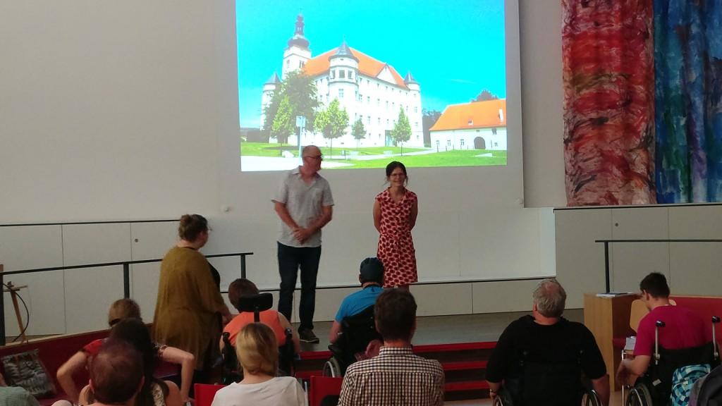 Präsentation: Anforderungen und Grundlagen für inklusiv gestaltete Gedenkarbei