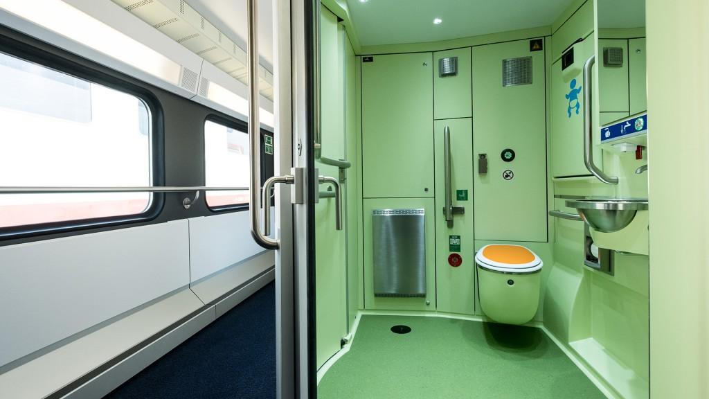 WESTbahn barrierefreies WC im KISS 2