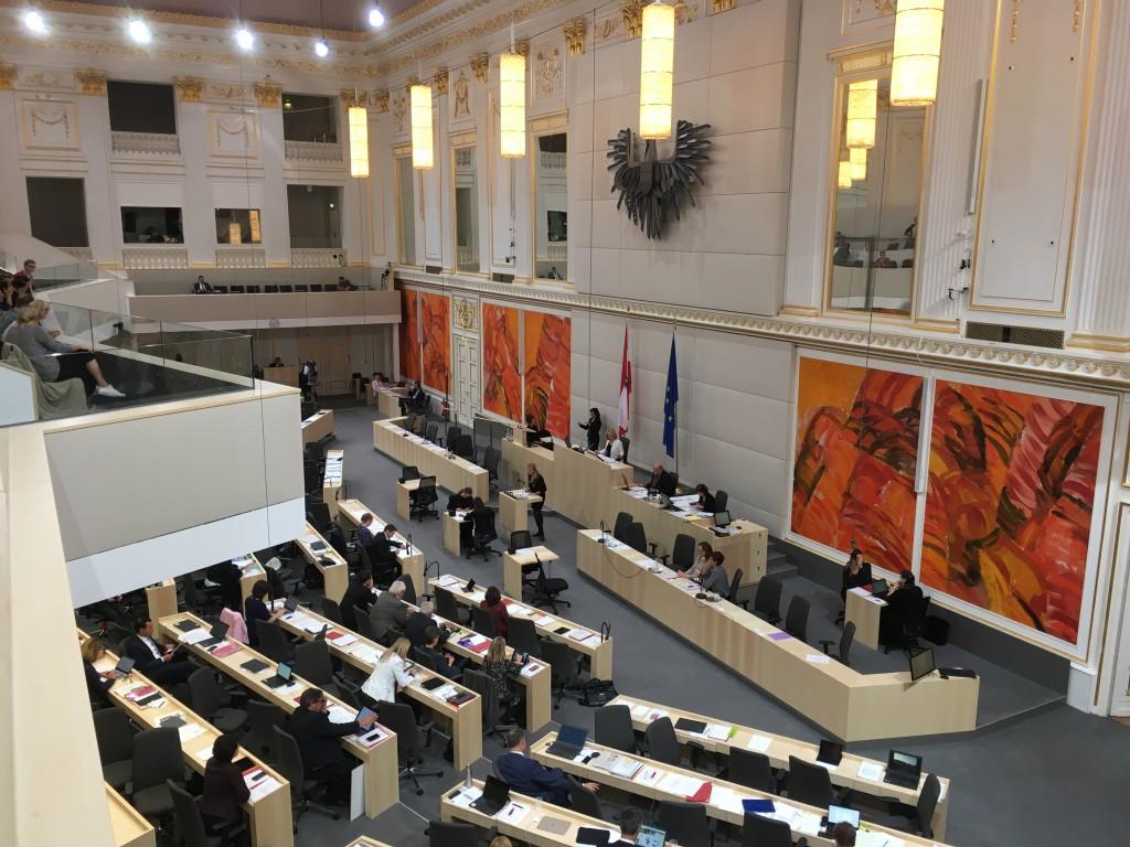 Plenum des Nationalrates in der Hofburg