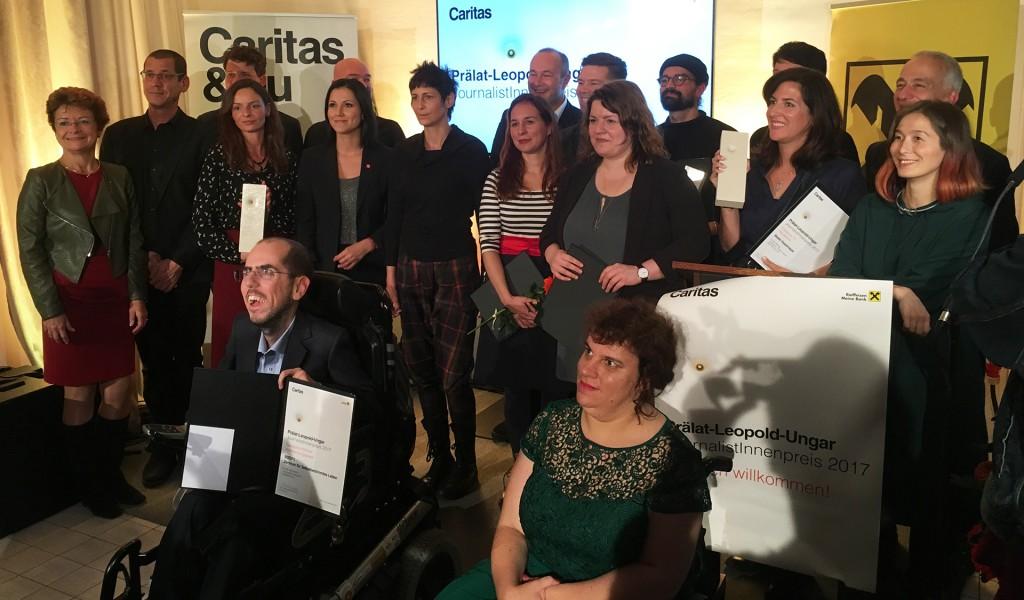 Prälat-Leopold-Ungar-JournalistInnenpreis 2017