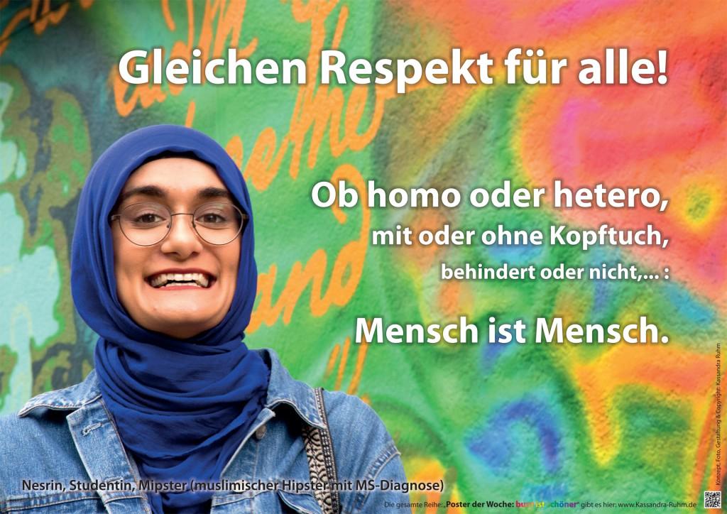 Gleichen Respekt für alle!