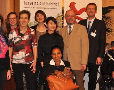 Die DiskutantInnen der entwicklungspolitischen Fachtagung der Stadt Wien am 4. Dezember 2017